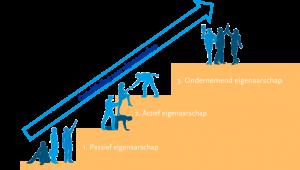 Fases van eigenaarschap bij zelforganisatie